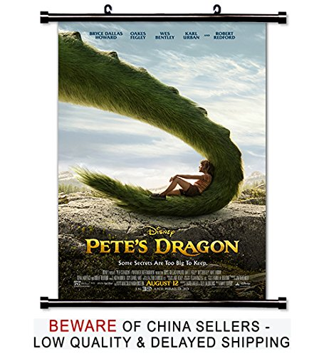 Pete's Dragon Movie Fabric Wall Scroll Poster