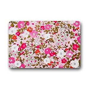 "Custom floral Doormat Outdoor Indoor 18""x30"" about 46cmx76cm"