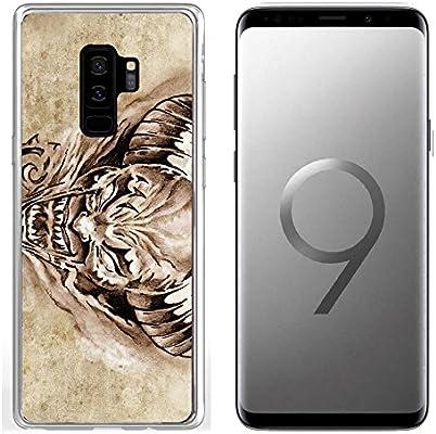 69abe913a10b7 Amazon.com: Samsung Galaxy S9 Plus Clear case Soft TPU Rubber ...