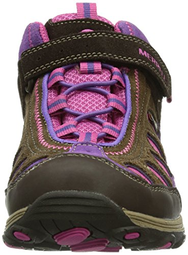 Pnk WTPF Multicolore Randonnée de AC Merrell Brn Chaussures Montantes Fille Cham Mid qFnPtRwpO