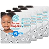 Honest Baby Diapers, Pandas, Size 6, 88 Count