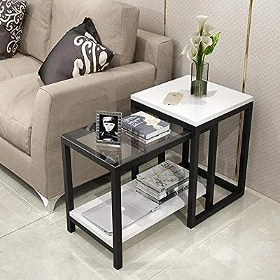 GWF Gabinete Lateral del sofá, Mesa de Centro/Esquina - Gabinete ...