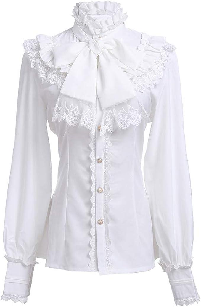 Vintage womans blouse size medium