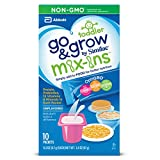 go foods - Go & Grow by Similac Food Mix-ins Non-GMO Powder Packs, Toddler Food Nutrients,Stick Packs, 40 count (0.3 oz Each)