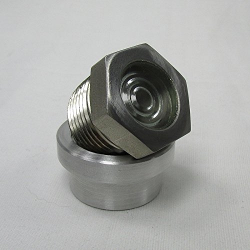 Amazon com: Motorcycle Nickel Plated Steel Sight Glass Style