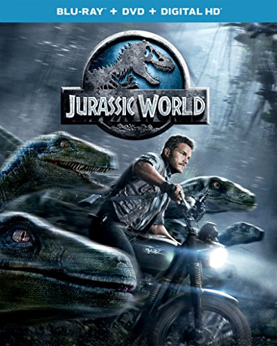 Blu-ray : Jurassic World (Ultraviolet Digital Copy, 2 Pack, Snap Case, Slipsleeve Packaging, Digital Copy)