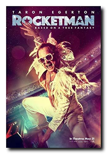 Mile High Media Rocketman Movie Poster 24x36 Inch Wall Art Portrait Print - Elton John Movie