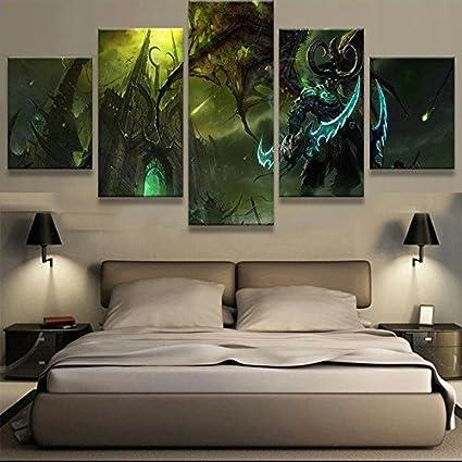 Amazon.com: [Medium] Premium Quality Canvas Printed Wall Art Poster ...