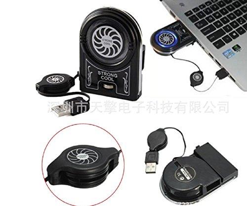 Lingduan Hount Laptop Cooler Vacuum Fan Rapid Cooling