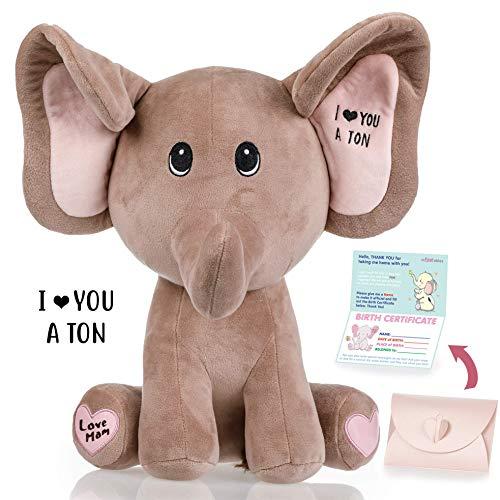 Baby Elephant stuffed animal Valentines product image