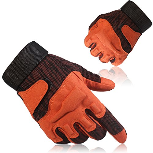 GOWINGLD Indoor and Outdoor Sports Full Finger Fighting Riding Fitness Anti-skidding Gloves