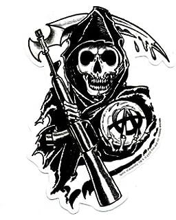 Sons Of Anarchy Logo Sticker Amazonde Spielzeug
