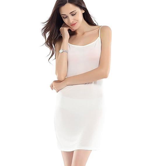Hoffen 100% Soie Fonds de robe Elégante Lingerie S to XXL (L, Blanc)   Amazon.fr  Vêtements et accessoires c466792d6ef4