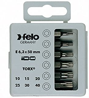 Exchange-A-Blade 98097 Assorted Torx Screwdriver Bit Set For  Drivers 2-Inch  Le