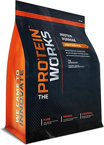 Protein Porridge / ORIGINAL / von THE PROTEIN WORKS / 2kg / Enthält über 22 g Premium-Protein aus verschiedenen Quellen, was für eine stufenweise Freisetzung sorgt