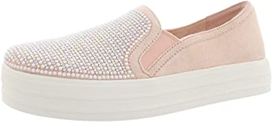 Skechers Double Up Shimmer Shaker Womens Slip On Sneakers