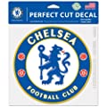 """SOCCER Chelsea FC 25923014 Perfect Cut Color Decal, 8"""" x 8"""", Black"""