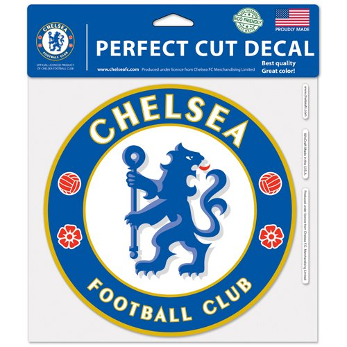 WinCraft Soccer Chelsea FC 25923014 Perfect Cut Color Decal, 8