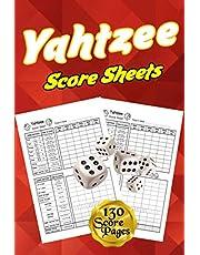 Yahtzee Score Sheets: Yahtzee Score Sheets: 130 Pads for Scorekeeping - Yahtzee Score Pads | Yahtzee Score Cards with Size 6 x 9 inches (The Yahtzee Score Books)