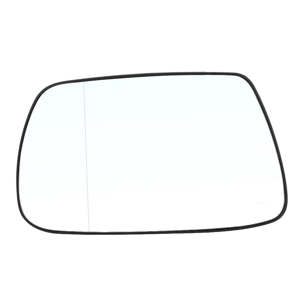 Rétroviseur Latéral Extérieur Miroir de Glace de Porte Chauffant pour Voiture Miroir d'Aile en Verre Gauche Côté avec Plaque de support