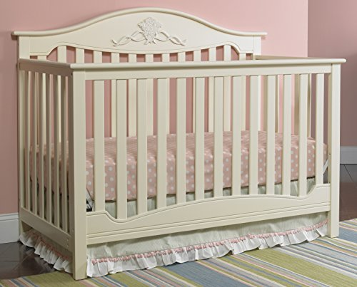 Fisher Price Cookie - Fisher-Price Mia 4-in-1 Convertible Crib, Sugar Cookie