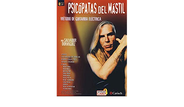 DOMINGUEZ S. - Psicopatas del Mastil Vol.1 para Guitarra Tab (Inc.Download Card): DOMINGUEZ S.: 8426607201152: Amazon.com: Books