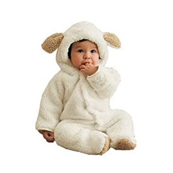 c34cb7f0c9ca Ura Baby Fleece Romper Toddlers Winter Playsuits Onesies  Amazon.co ...