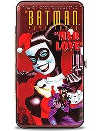 Buckle-Down Hinge Wallet - Harley Quinn Joker