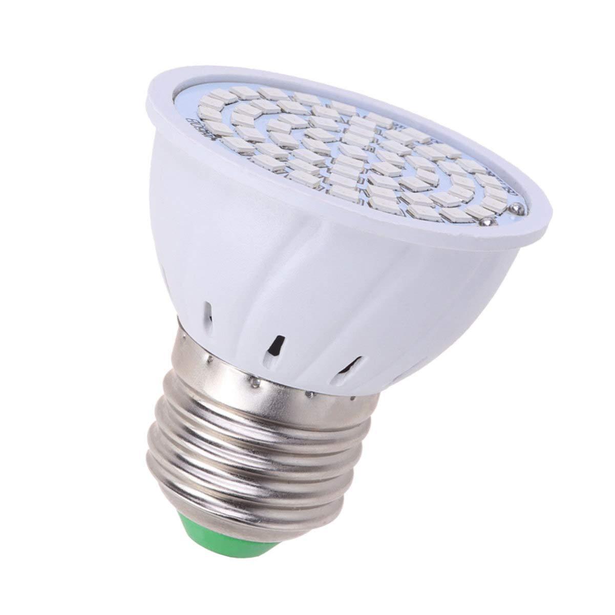 Uonlytech 1 Pc LED Grow Light Bulb E27 Socket Full Spectrum Plant Growth Lamp Pants Grow Light Plant Spotlight for Home Fish Tank Office