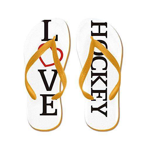Grande Amore Hockey - Infradito, Sandali Infradito Divertenti, Sandali Da Spiaggia Arancione