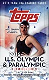 2016 Topps US Olympics Hobby Box (24 Packs of 8 Cards. 1 Autograph, 1 Relic, 1 Commemorative Card) (Release Date: 5/11/16)
