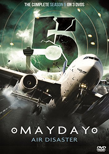 Mayday Air Disaster Complete Series 5 (3 DVD set As Seen On National Geographic Channel Air Crash Investigation) B01I06MC10