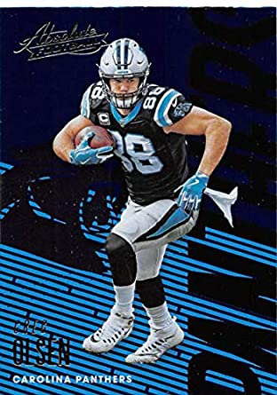 2018 Absolute Football  15 Greg Olsen Carolina Panthers Official NFL  Trading Card made by Panini 848417347
