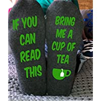 Bring me Tea Unisex Socks Funny Sayings Party Birthday Gift