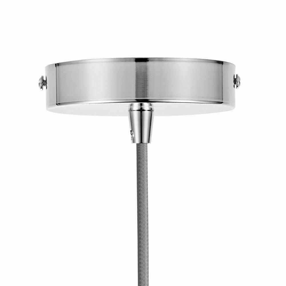 VLIKE PL06 Matte Silver Pendant Light Fitting Silver 2PCS
