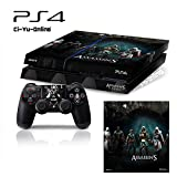 Ci-Yu-Online VINYL SKIN [PS4] Assassin's Creed #4 Whole Body VINYL SKIN STICKER DECAL COVER for PS4 Playstation 4 System Console and Controllers
