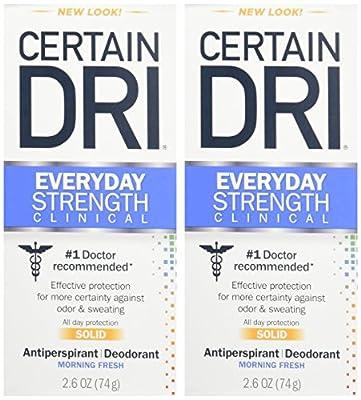 Certain Dri A.m Solid Antiperspirant/Deodorant 2.6 Oz