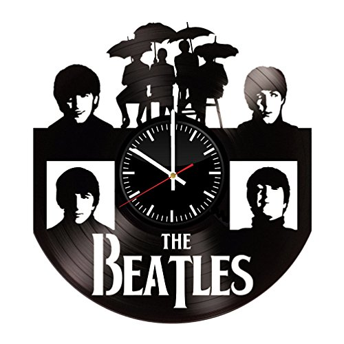The Beatles Vinyl Record Wall Clock . Get unique home room wall art decor. Cool gift ideas for boys, girls, kids, teens, men and women.