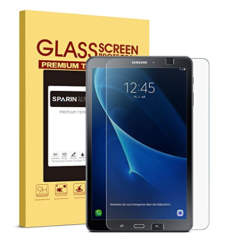 SPARIN-Galaxy-Tab-A-101-Screen-Protector-SM-T580-Model-03mm-Tempered-Glass-Bubble-Free-Screen-Protector-for-Samsung-Galaxy-Tab-A-101-Clear