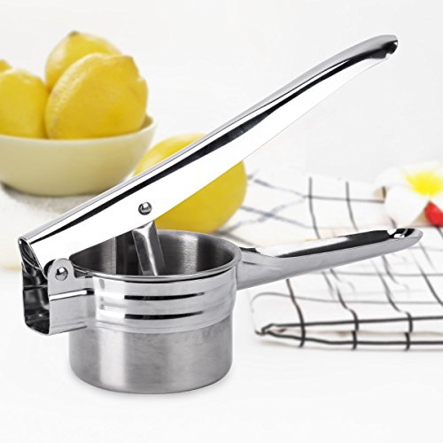BeautyKitchen Stainless Steel Potato Ricer with 3 Interchangeable Disks by BeautyKitchen (Image #5)'