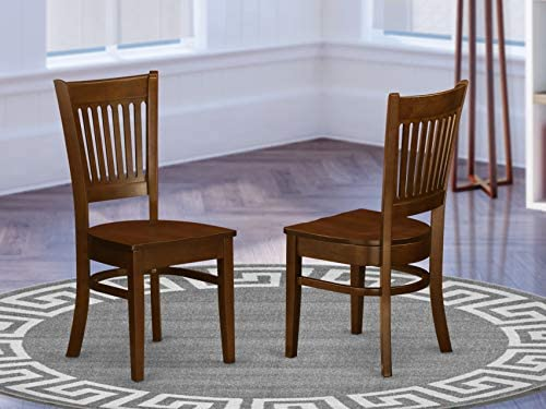 picture of East West Furniture VAC-ESP-W Vancouver dining room chairs