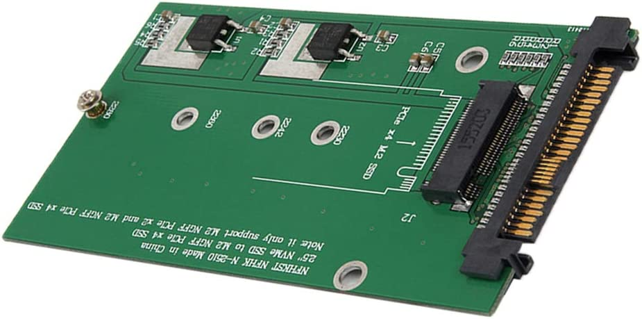 Baosity SFF 8639 NVME U.2 PCIe to NGFF M.2 M-Key SSD Adapter Card Converter