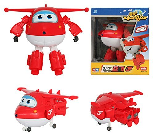 [8 Pcs SET] Super Wings Transforming planes series animation by David Toy (Hogi + Ari + Mina + Donnie + Jerome + BJ Bong + ZUZU + Grand Albert)