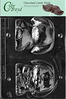 Cybrtrayd Life of the Party E146 Hollow Flop Ear Bunny Easter Chocolate Candy Mold in Sealed