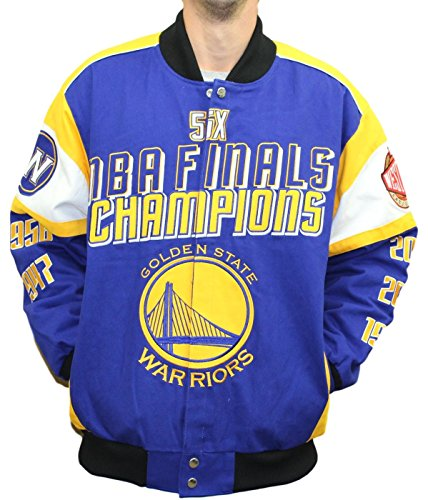 s G-III NBA Championship Cotton Twill Commemorative Jacket (Twill Championship Jacket)