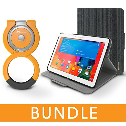 Galaxy Tab Pro 10.1 Case Bundle, roocase Folio Case Cover...