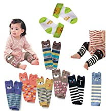 Luckystaryuan ® Prime Deals Set of 6 Combed cotton Baby Leg Protector Warmer