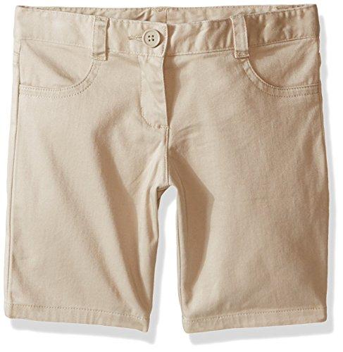 - Nautica Big Girls' Uniform 5-Pocket Short, Khaki, 12