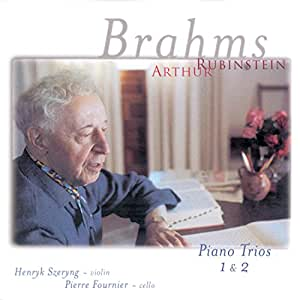 Brahms: Piano Trios Nos. 1 & 2, Opp. 8 and 87 (Rubinstein Collection, Vol. 72)