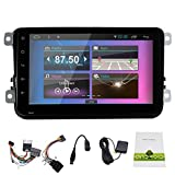Pupug Android 4.4 Quad Core GPS Navigation Car Stereo Special for Volkswagen/New Magotan/Sagitar/ Golf/ Bora/Touran/ Jetta/New Santana(2013)Support WIFI /mp3/mp4/amfm/Bluetooth/Canbus/ Double 2 Din 8 inch Capacitive Touch Screen Car Stereo